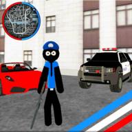 火柴人维加斯警察