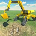 未来派挖掘机建设模拟器v1.0