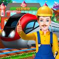修建铁路轨道和车站
