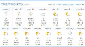 查看精确天气预报的软件